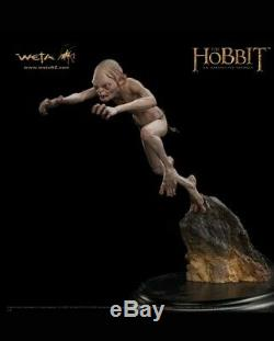 Gollum Enraged Statue Figure Weta Workshop Hobbit Lord of the Rings Smeagol