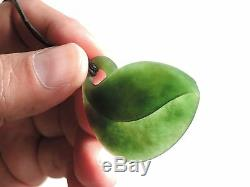 Greenstone MARSDEN JADE Maori Pounamu NEPHRITE Dean's INTRICATE Leaf Tendril WOW