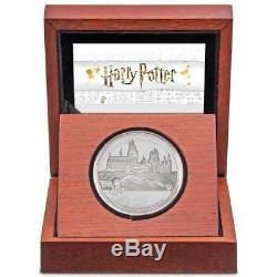 HARRY POTTER HOGWARTS CASTLE 2020 Niue 1oz silver coin