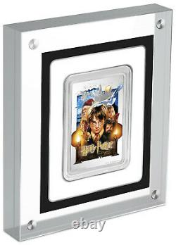 HARRY POTTER & THE SORCERERS STONE 2020 Niue 1oz silver poster coin