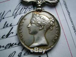 Historical Crimea War medal pair 4 bars E Arnold India New Zealand North America