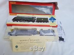 Hornby R2826 Ltd Ed 4-6-2 Class A4 Br Green Dominion Of New Zealand New Boxed