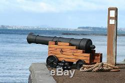 Incredible 4 foot Ship's Cannon Barrel