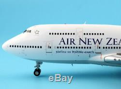 JC Wings 1200 Air New Zealand Boeing 747-400 Diecast Aircarft Model Reg#ZK-NBV