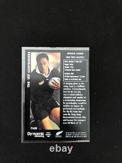 Jonah Lomu RC Rookie 1995 All Blacks DYNAMIC MARKETING 95 CONTENDERS Set of 55