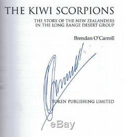 KIWI SCORPIONS' LRDG Collectors Reference BOOK Long Range Desert Group WW2