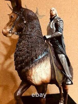 King Thranduil On Elk 514/750-weta-the Hobbit-1/6 Scale