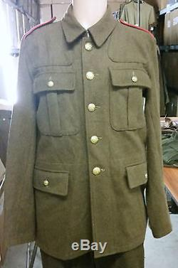Kiwi Ww1 Wool Tunic 1914 Patt New Zealand Infantry & Mounted Trooper