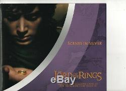 LORD OF THE RINGS SILVER PROOF NEW ZEALAND 24 COIN COLLECTION boxed
