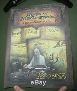 LOTR Maps of Middle-Earth Cities & Strongholds Limited with COA 919/2000