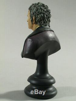 LOTR SIDESHOW WETA Bilbo Baggins 1/4 scale Hobbit bust