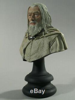 LOTR SIDESHOW WETA Gandalf the White 1/4 scale bust Limited #539 of 2000 PERFECT
