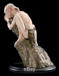 LOTR Weta Gollum Miniature Statue Trilogy Movie New Zealand Smeagol Hobbit