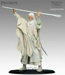 Lord of the rings Weta Sideshow Gandalf the white 1/6 Two towers Lotr/Hobbit