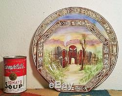 MAORILAND antique pottery painting pacific new zealand tiki tattoo royal winton