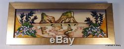 MOORCROFT Farewell Beach New Zealand Plaque Number 19 Collection RRP £340