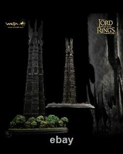 NEW Rare limited edition 384 of 400 Weta Orthanc Black Tower of Isengard LOTR