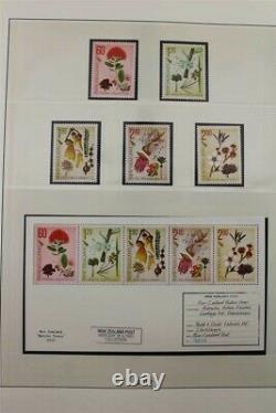 NEW ZEALAND 1870's to 2015 Huge with Modern Years MNH 550 Pages Stamp Collection