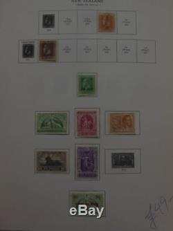 NEW ZEALAND Beautiful all Mint collection on album pages. SG Catalog £2,936.00