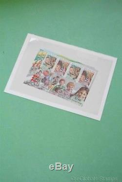 NEW ZEALAND Both CAPEX Children Health Sheets 1996 Unissued Stamp Collection