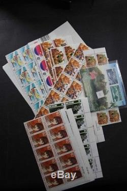 NEW ZEALAND NZD 2250 Face Value Postage mainly per 10, few Ross Stamp Collection