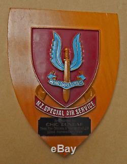NEW ZEALAND S. A. S. Special Air Service Group Unit Wall Plaque PRESENTATION Item