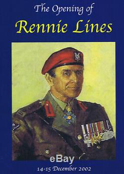 NEW ZEALAND Special Air Service 1st NZSAS GROUP RENNIE LINES SAS Wall Plaque