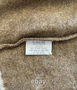 NWT KORU NZ possum silk collection knit jumper pullover / sz L
