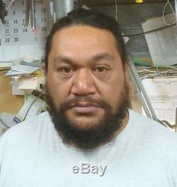 NZ Maori Carver CHRIS TAKIARY made Pounamu Jade Greenstone Character Hei Tiki
