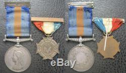 New Zealand 1870 Medal And Nzeva Pair 1st Waikato Regiment Enlisted Australia