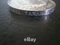 New Zealand 1870 Medal To The Taranaki Rifle Volunteers