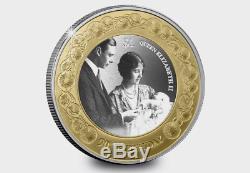 New Zealand 2016 -Silver $1 Proof Coin- 1 OZ Queen Elizabeth II 90th Birthday