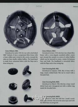 New Zealand/Australia BRODIE Steel Helmet Raw Edge No Brim Doughboy Tommy Read