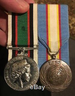 New Zealand East Timor Medal Group RNZIR