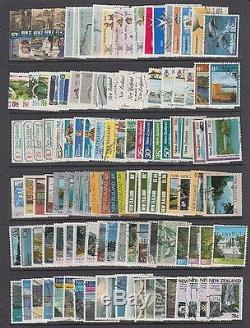 New Zealand Extensive Collection Of 2000 All Different Used (id063/d35487)