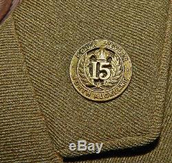 New Zealand INFANTRY Captain's Uniform TUNIC Kiwi ANZAC Gallipoli VERY NICE Cond