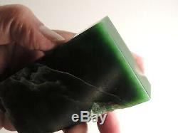 New Zealand MARSDEN Flower Jade Greenstone Nephrite Block Slab Specimen Display