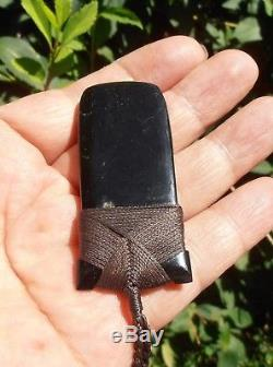 New Zealand Maori Toki Wyoming Black Jade (Edward Black) 68 mm