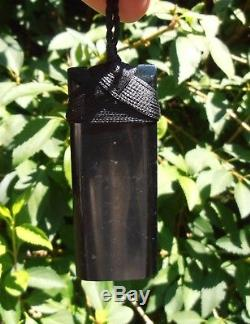 New Zealand Maori Toki Wyoming Black Jade (Edward Black) 75 mm