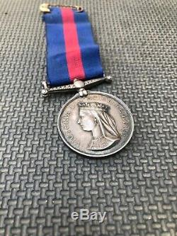 New Zealand Maori War Medal 1860s To Pte G. Heslop Napier Militia RARE