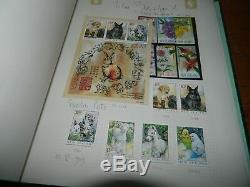 New Zealand Mint Stamps Collection 1988 2003 (face Value Nz$ 1,100)