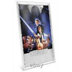 New Zealand Mint Star Wars Return Of The Jedi Premium 35g Silver Foil