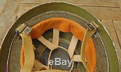 New Zealand Special Air Service PARATROOPER HELMET 1956 by C. C. L. Size 6 7/8ths