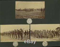 New Zealand/Wellington Mounted Rifles photo album, Egypt, 1915, WW1