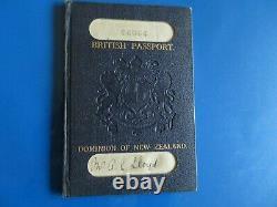 New Zealand passport 1924