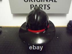 Obsolete New Zealand Fire Brigade Fire Fighters Helmet Dated 1968