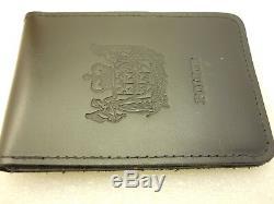 Obsolete New Zealand Police Detective Badge + Wallet