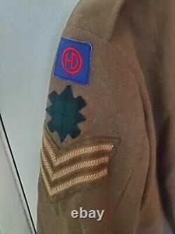 Original P-37 New Zealand Army Wool Battle Blouse Jacket Size No. 14