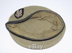 Original Vietnam War New Zealand Army Special Air Service SAS Beret Tan