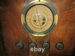 Pacific Antique Deco Tombstone Radio May Not Be Fully Functional, Parts Only